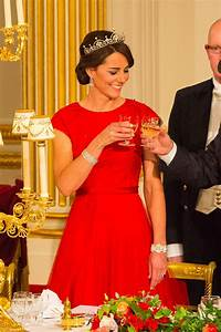 Kate Middleton Wears Tiara And Jenny Packham Dress For