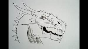 Drawing  U00e0 Dragon Head