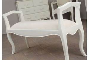 Lit Baroque Blanc : bout de lit baroque blanc ~ Teatrodelosmanantiales.com Idées de Décoration