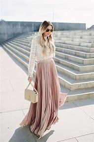 Long Tops to Wear with Maxi Skirts