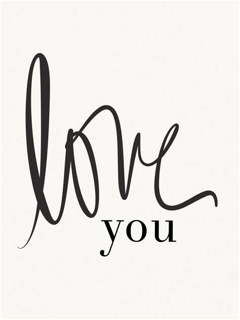 Avery Street Design Blog Free Printable  'love You