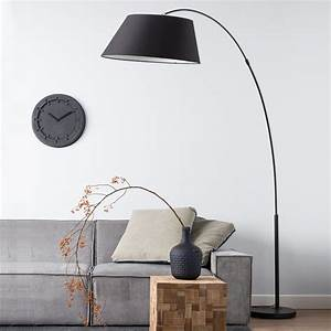 The many stylish forms of the modern arc floor lamp for Arc floor lamp with copper shade