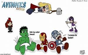 Cartoon Baby Avengers   www.pixshark.com - Images ...