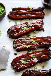 Sticky Chinese Barbecue Pork Belly (Char Siu) Cafe Delites