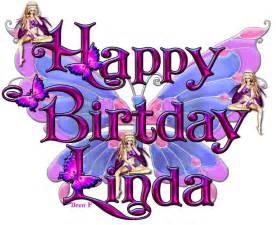 Happy Birthday Linda Glitter Graphics