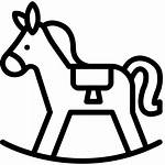 Toys Horse Toy Icon Svg Rocking Drawing