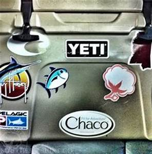 Yeti coolers logo google search fishing brands for Best brand of paint for kitchen cabinets with southern tide stickers