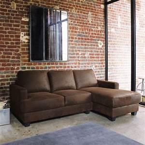 canape cuir convertible maison du monde palzoncom With canapé convertible cuir avec tapis salon maison du monde