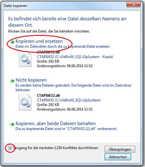 Wie kann ich die Daten von meinem GPManager sichern? › go