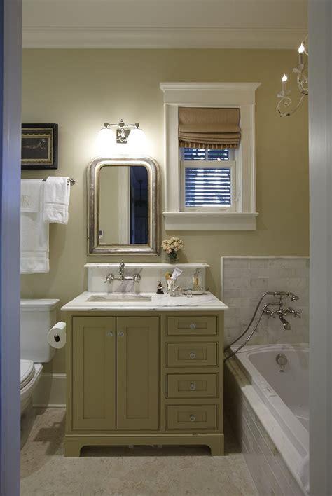 green bathroom cabinets cottage bathroom urban grace