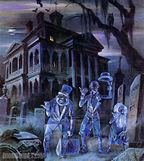 Ghosts, Snoopy, Haunted Mansions And Halloween The