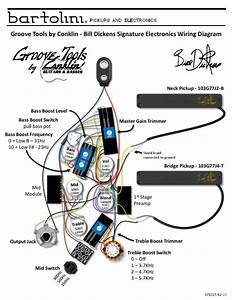 Groove Tools By Conklin - Bartolini Hr-gtbd-7 Wiring Diagram