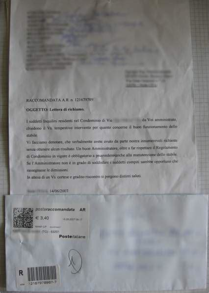 lettere condominiali pisciate e sbaciucchiamenti nel condominio i proprietari