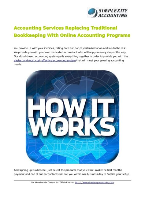 Accounting Services Replacing Traditional Bookkeeping With