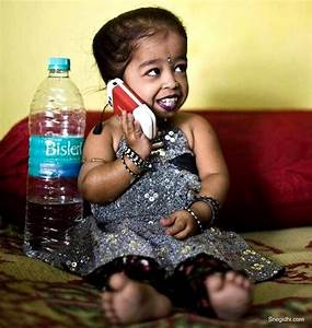 Meet The World's Shortest Woman: 19-year-old Jyoti Amge Is ...