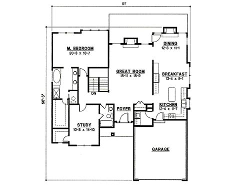 Traditional Style House Plan 4 Beds 3 00 Baths 2607 Sq