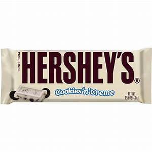 Hershey's Cookies 'n' Creme White Chocolate 43g bar ...