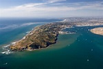 San Diego Point Loma aerial view - San Diego Moving ...