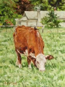Cow Oil Paintings Original