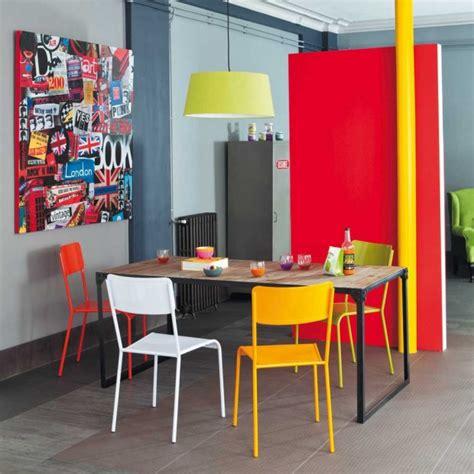chaise industrielle maison du monde 12 idées déco avec des chaises dépareillées