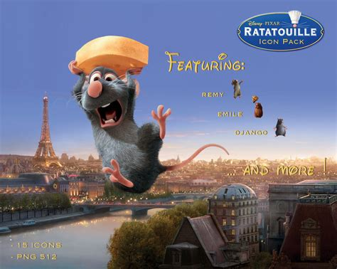 Ratatouille Icon Pack By Trabzonsport On Deviantart