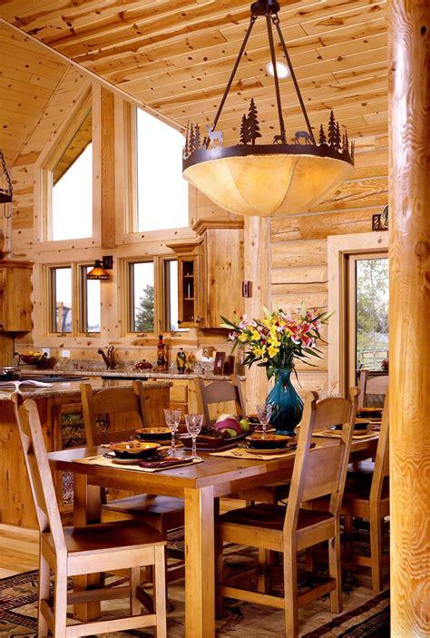 Home Interiors by Log Home Interiors Yellowstone Log Homes