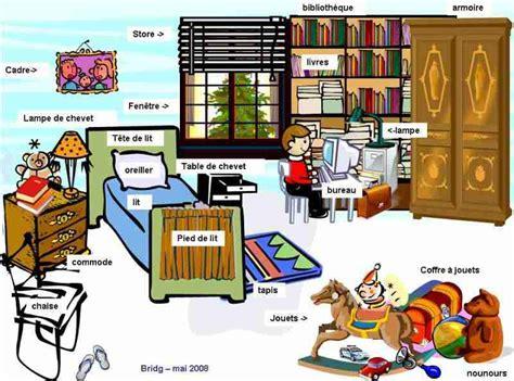 vocabulaire ma chambre 2