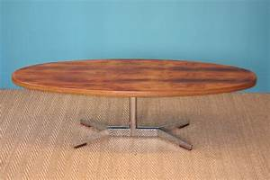 Table Basse Hauteur 60 Cm : table scandinave 1960 palissandre coin canal ~ Dailycaller-alerts.com Idées de Décoration