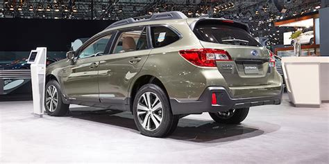 2018 Subaru Outback Makes Final Appearance In Ny; 5