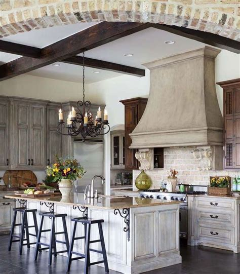 Chandelier in French Kitchen   Indeed Decor   Next Home