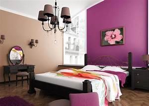 peinture murale quelle couleur choisir chambre a coucher With decoration peinture murale couleur