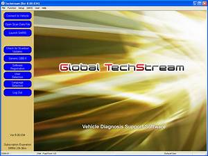 Toyota Techstream Software Free Download