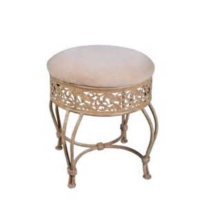hillsdale furniture villa iii vanity stool antique beige