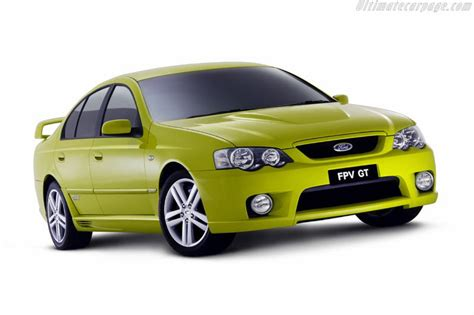 ford ba falcon fpv gt images specifications
