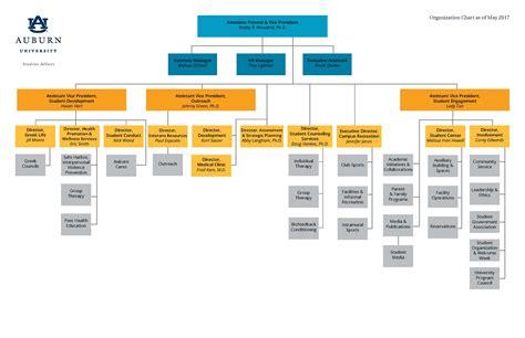 organizational charts assessment strategic planning auburn university
