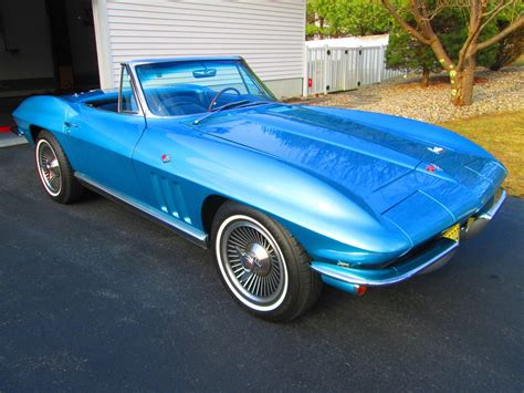 Convertible For Sale by 1966 Corvette For Sale New Jersey 1966 Corvette