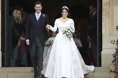 Princess Eugenie And Jack Brooksbank Tie Knot In Royal