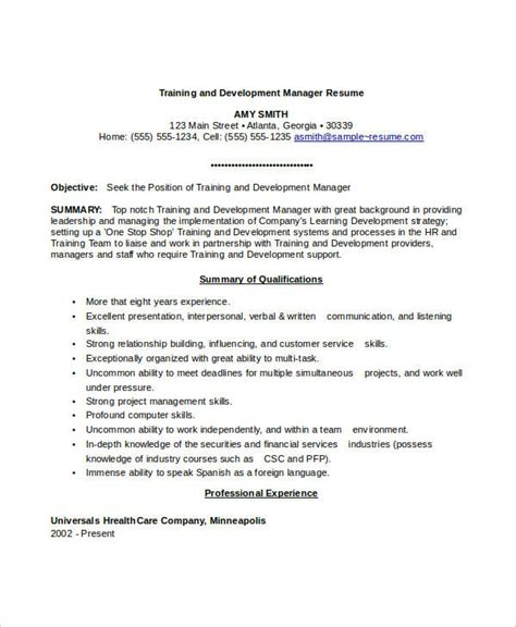 Professional Development Trainer Resume by Professional Manager Resume 49 Free Word Pdf Documents