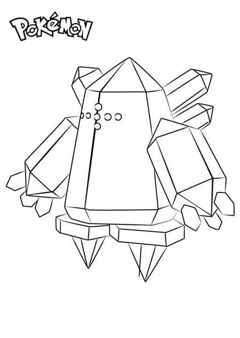 regice  pokemon coloring pages  printable coloring pages