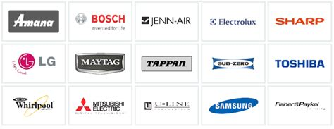 Brands Of Home Appliances. Brands Los Angeles Appliance