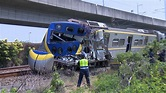 聯結車突熄火慘卡平交道 下秒遭火車猛撞釀4傷-民視新聞網