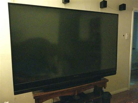 Mitsubishi 73 Dlp Tv by Mitsubishi 73 Inch 1080p Hd Dlp Tv Model Wd 73642 For Sale