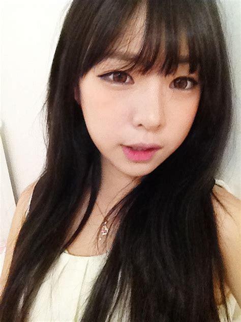 angie wong     bangs fringe