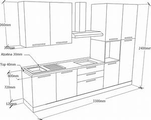 Mobili da cucina misure standard design casa creativa e for Misura cucine standard