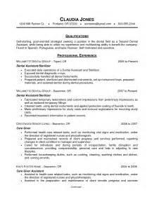 jobs for entry level medical assistants 41 printable dental assistant resumes for job applications vntask com