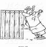 Coloring Fence Wood Lumber Cartoon Woods Fencer Drawing Picket Nailing Boards Vector Designlooter Getdrawings Drawings Outlined Getcolorings 49kb 1044px 1024 sketch template