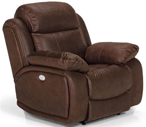 Recliner Chair by Stanton 853 Power Reclining Chair With Power Lumbar
