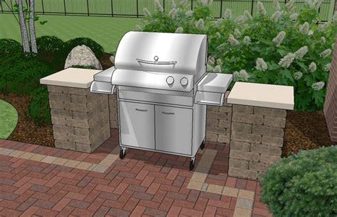 outdoor grill patio ideas 1000 ideas about grill area on pinterest outdoor grill area outdoor kitchens and deck plans