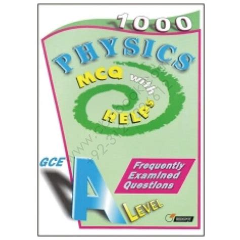 GCE A Level PHYSICS 1000 MCQs With Helps REDSPOT ...