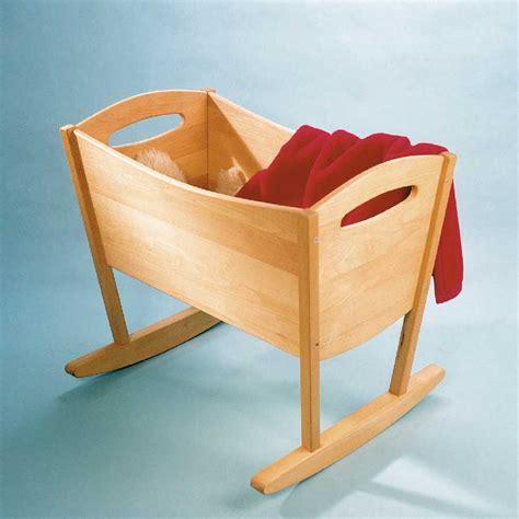 sieges bureau ergonomiques berceau bébé à bascule en hêtre massif de breuyn db000012
